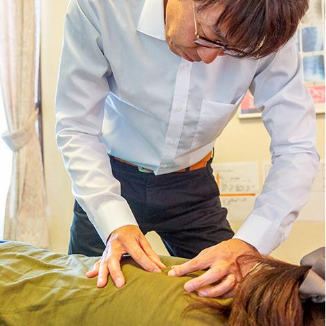 身体全体に影響を与える「自律神経」を 正常な状態へ戻すお手伝いをしています。